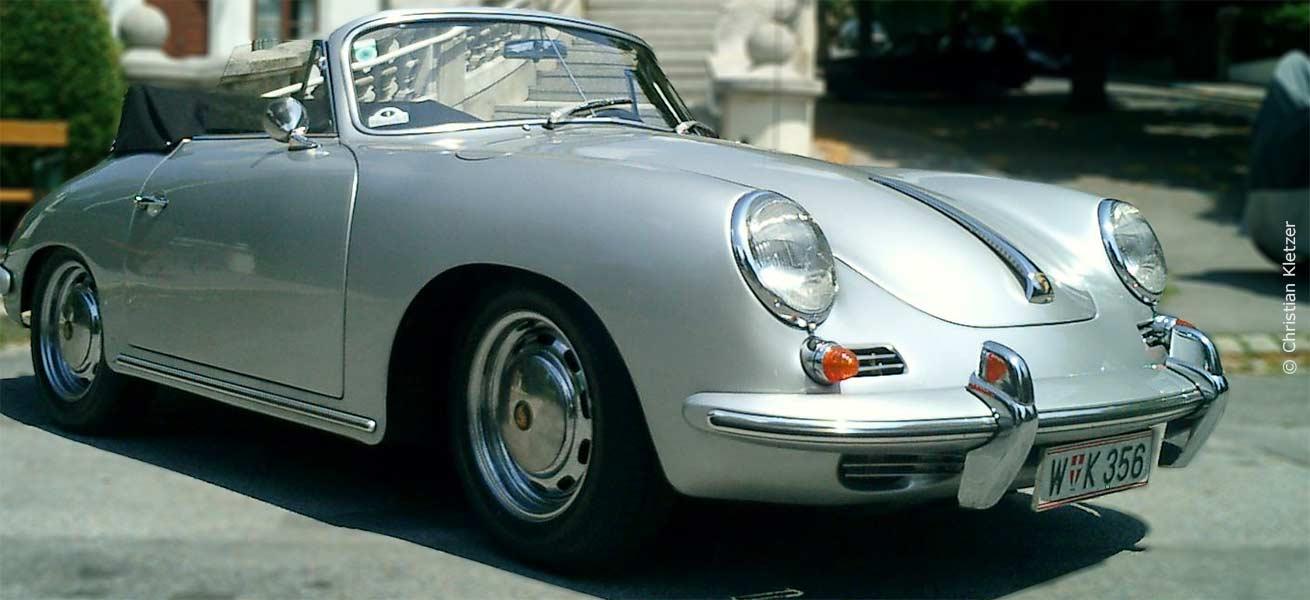 Porsche 356, silber © Christian Kletzer
