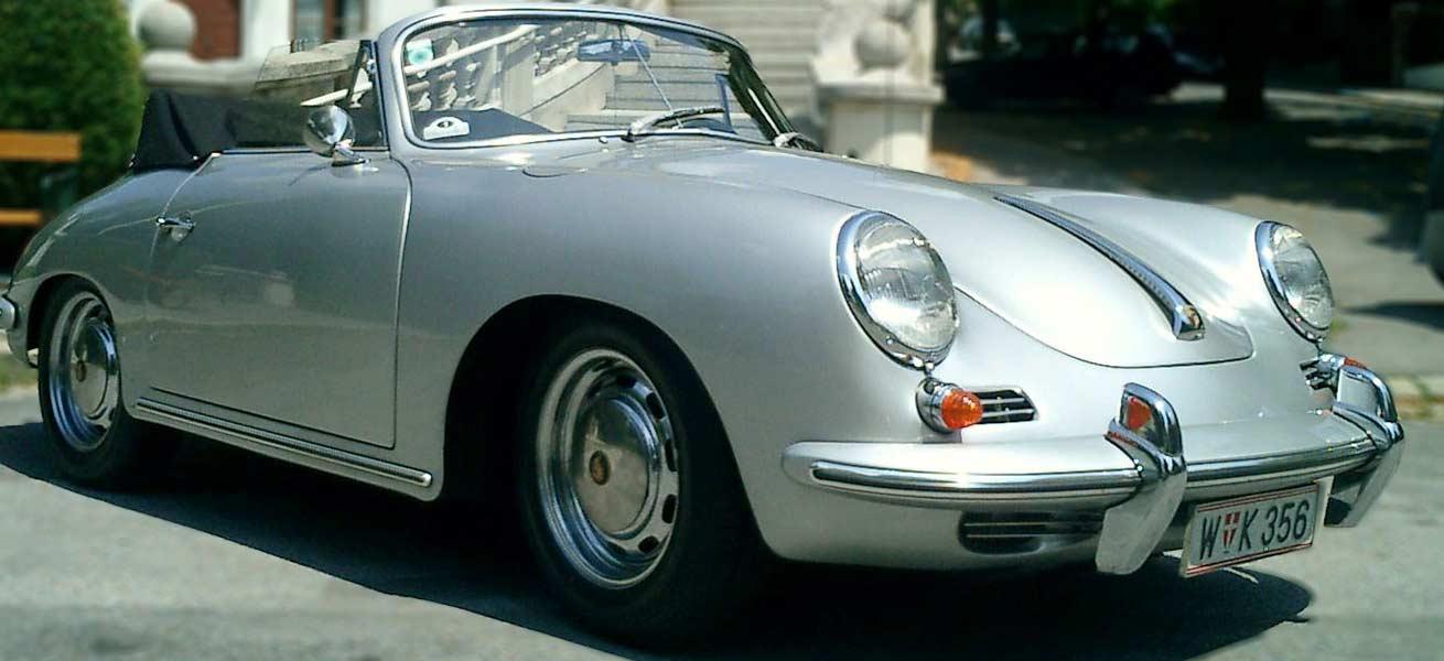 Oldtimer Wertgutachten, Porsche 356, Christian Kletzer, Oldtimer-Sachverständiger Österreich